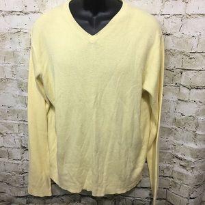 Polo Ralph Lauren Yellow Lightweight Sweater